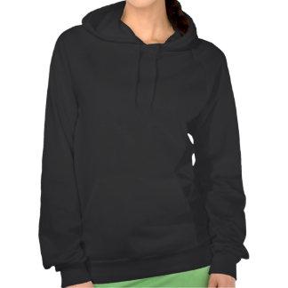 Day of the Dead Sugar Skull - Swirly Multi Color Hooded Sweatshirt