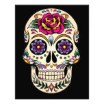 Day of the Dead Sugar Skull with Rose Photograph