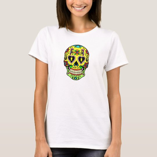 Day of the Dead Sugar Skull Women's T-Shirt