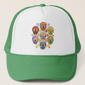 Day of the Dead Sugar Skulls Hat