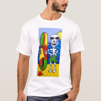 Day of the Dead Surfer T-Shirt