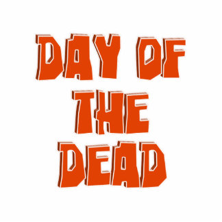 DAY OF THE DEAD Text Image Acrylic Cut Out