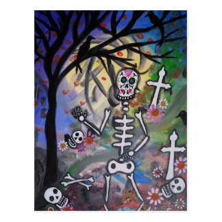 DAY OF THE DEAD VISITA POSTCARDS