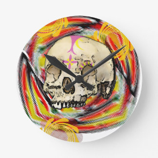 day of the dead wallclock