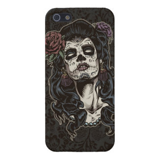 Day of the Dead Woman Color iPhone 5 Cases