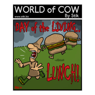 Day of the Living Lunch Posters