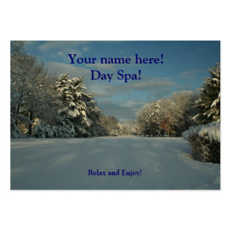 Day Spa business Cards! Pack Of Chubby Business Cards