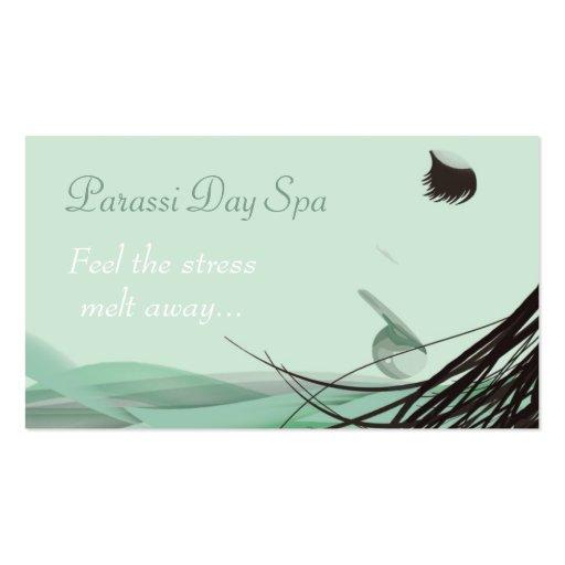 Day Spa & Salon Business Card Template
