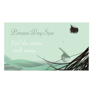 Day Spa Salon Business Card Template