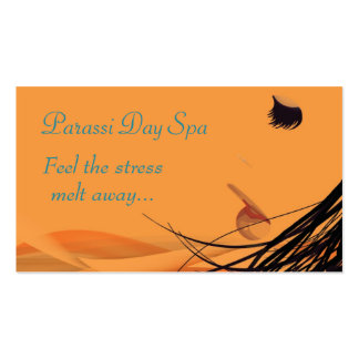 Day Spa Salon Business Cards
