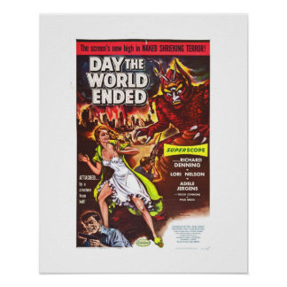 Day the World Ended Poster