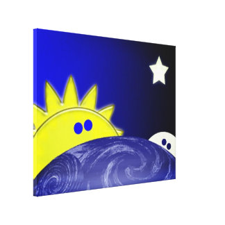Day to Night to day Canvas Print