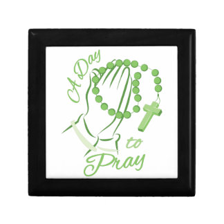 Day To Pray Small Square Gift Box