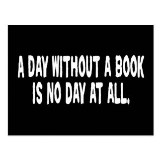Day Without a Book Postcard