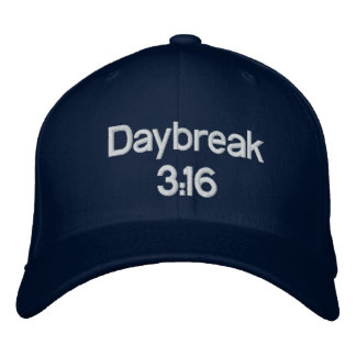 Daybreak 3:16 Hat Embroidered Baseball Caps