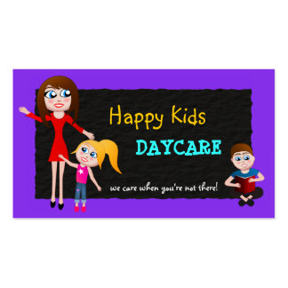 Daycare Child Care Babysitting Business Cards Business Card