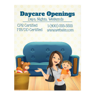 Daycare Openings Promotional Flyer