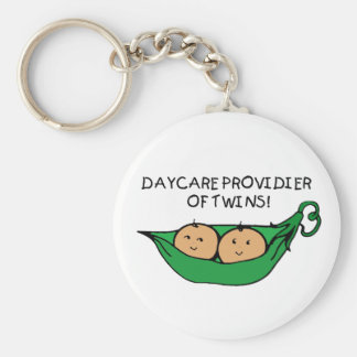 Daycare Provider of Twin Pod Key Ring