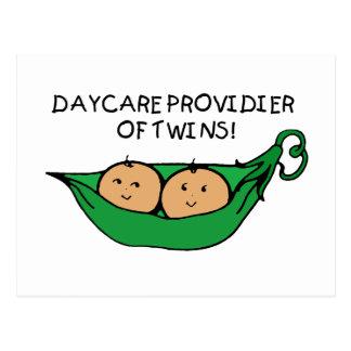 Daycare Provider of Twin Pod Postcard