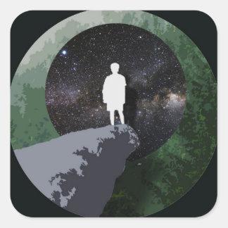 Daydream Square Sticker