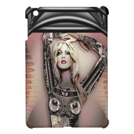 Daydreamer Cyborg Babe iPad Mini Cover