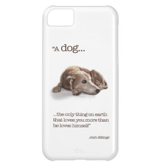 Daydreaming Dog iPhone 5C Case