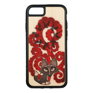 Daydreaming Fox Carved iPhone 8/7 Case