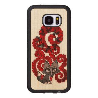 Daydreaming Fox Wood Samsung Galaxy S7 Case