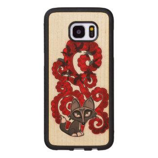 Daydreaming Fox Wood Samsung Galaxy S7 Edge Case