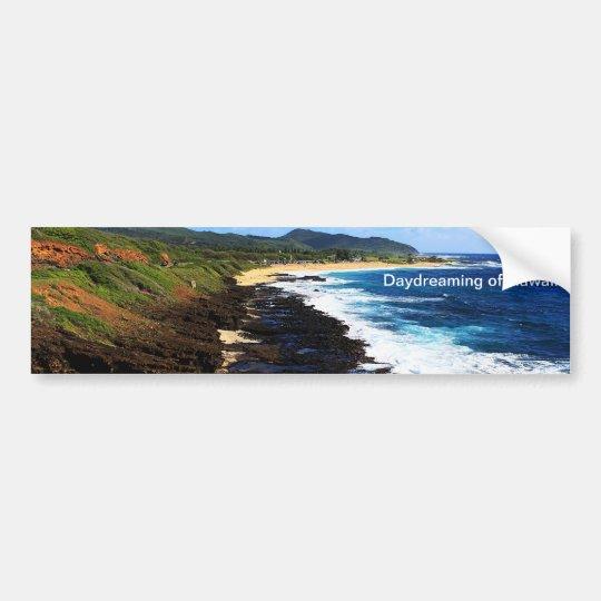 Daydreaming of Hawaii Bumper Sticker