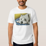 Daydreaming westie tshirt
