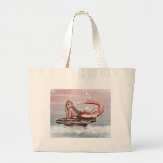 Daydreams Mermaid Large Tote Bag