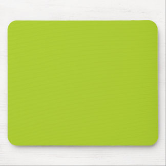 Dayglow Lime Green Color Trend Blank Template Mouse Pad