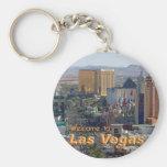 Daylight on the Las Vegas Strip Keychains
