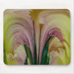 Daylily Abstract Mousepad