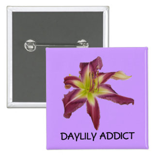 Daylily Addict Button