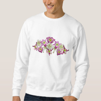 Daylily Collage Sweatshirt