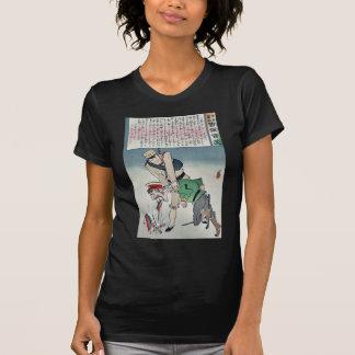 Days before the war by Kobayashi,Kiyochika T-shirts