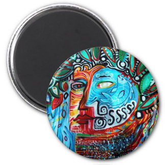 Days Gone By Gregory Gallo 6 Cm Round Magnet