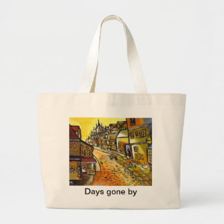 (DAYS GONE BY) JUMBO TOTE BAG