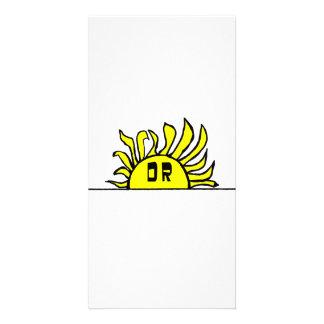 Day's Rays Custom Photo Card