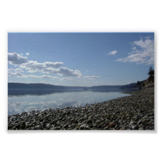 Daytime at Hood Canal Print