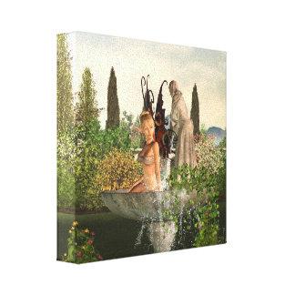 Daytime Garden Fairy Canvas Prints