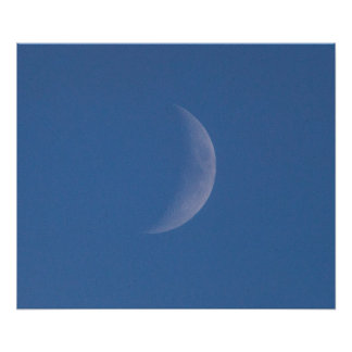 Daytime Moon Print