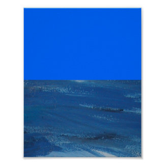 DAYTIME OCEAN PRINT