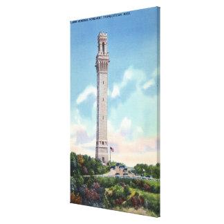 Daytime View of Pilgrim Memorial Canvas Prints