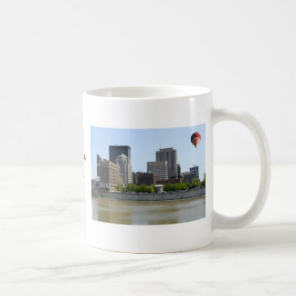 Dayton Ohio city skyline Coffee Mug