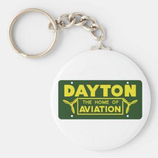 Dayton Ohio Key Ring
