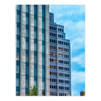 Dayton Skyline Postcard
