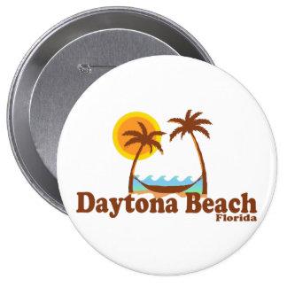 Daytona Beach. 10 Cm Round Badge